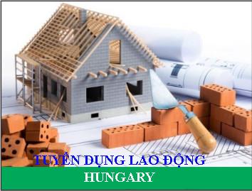 THÔNG BÁO TUYỂN DỤNG LAO ĐỘNG LÀM VIỆC TẠI HUNGARY - CÔNG NHÂN XÂY DỰNG (HU0720)