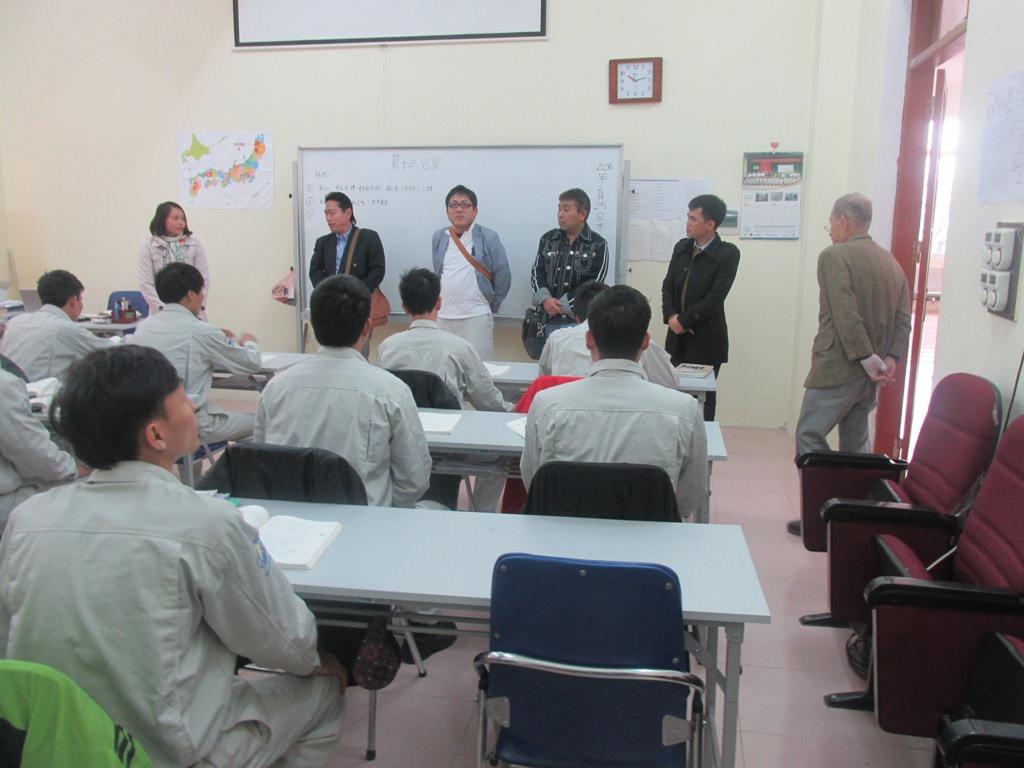 Nghiệp đoàn Johoku tới thăm và làm việc tại công ty NIBELC