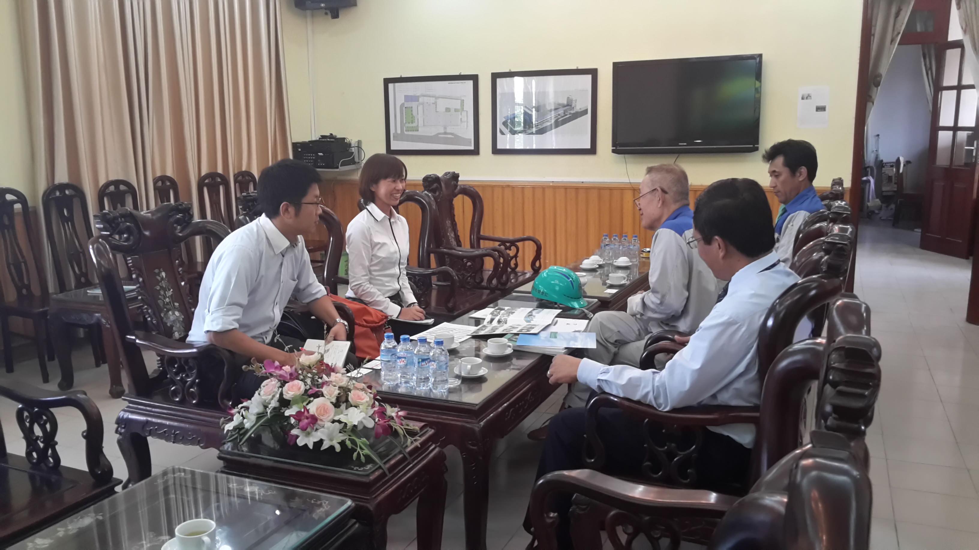 Đoàn đại biểu Đại sứ quán Nhật Bản đến thăm và làm việc tại trường dạy nghề quốc tế NIBELC Ninh Bình