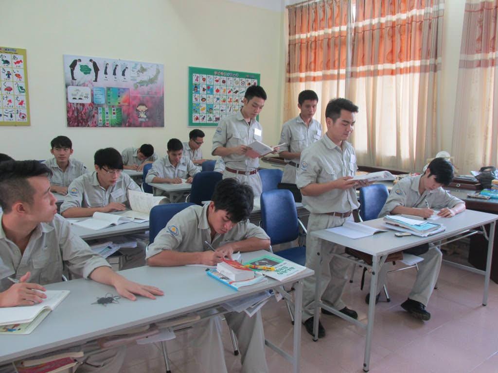 Cập nhật quá trình học tập của TTS Điện lạnh tại trường cao đẳng nghề Việt Xô