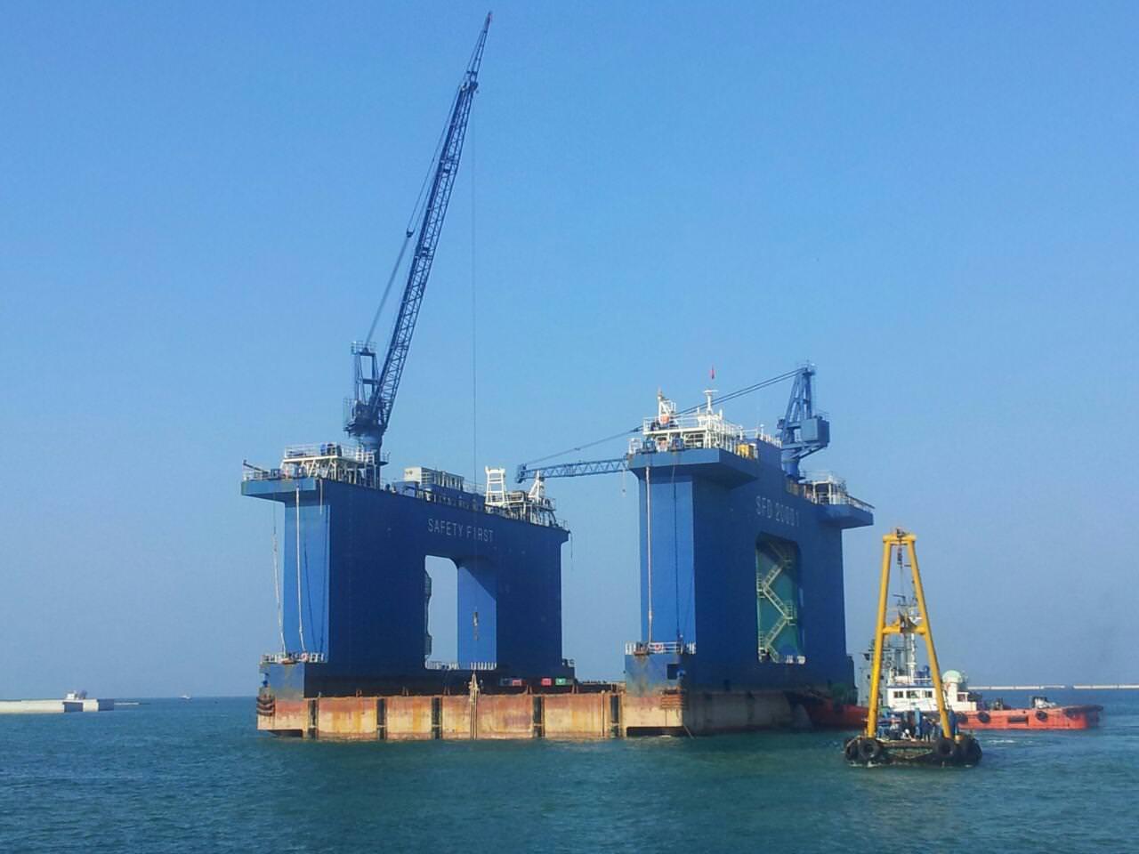 Cập nhật tiến độ dự án cảng Sơn Dương tháng 8/ 2015