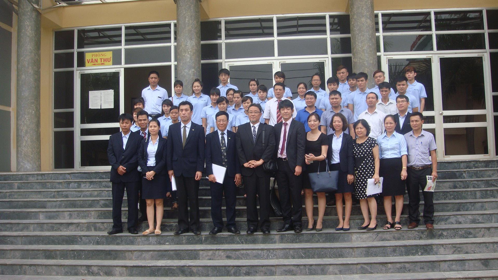 Lễ khai giảng khóa 1 - Đào tạo tiếng Nhật cho nguồn thực tập sinh của trường cao đẳng y tế Phú Thọ