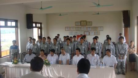 Lễ khai giảng TNS Nhật Bản tháng 6-2012