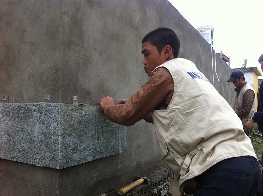 Thi tuyển thợ ốp đá Granit và ốp lát