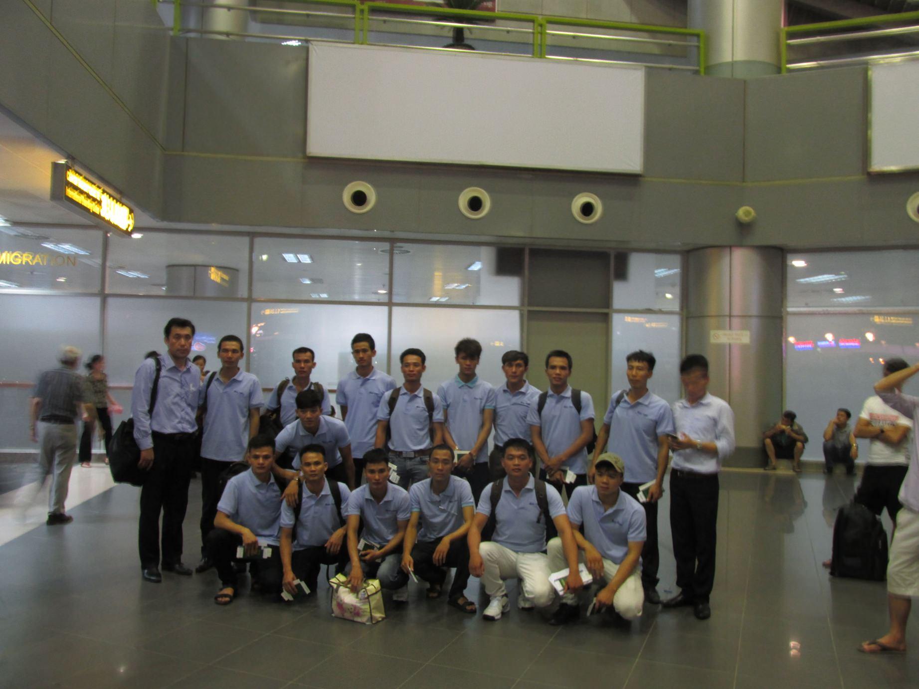 TTS khóa 6 ngành nội thất lên đường sang Nhật Bản