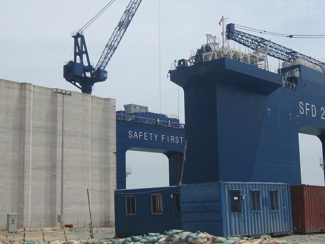 Cập nhật tiến độ dự án cảng Sơn Dương đến tháng 5/2013