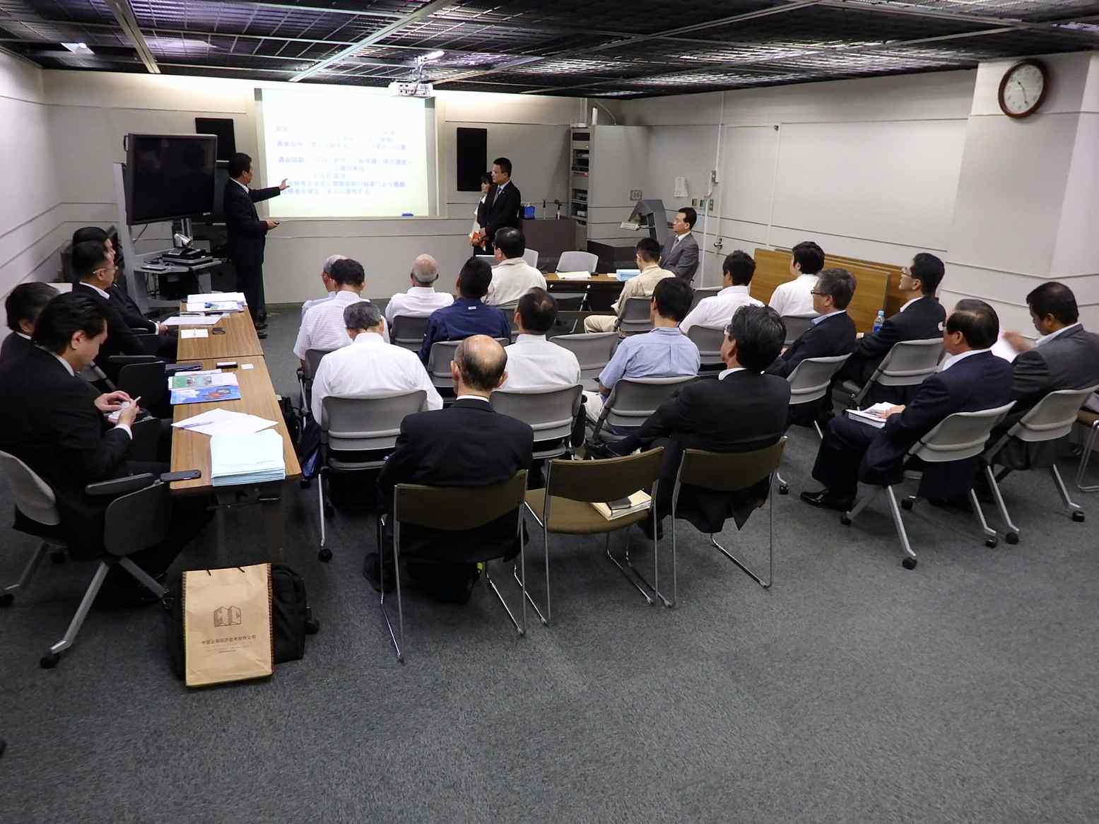 NIBELC tham dự thuyết trình chương trình đào tạo TNS tại Nhật Bản
