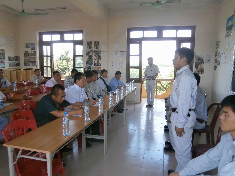 Nghiệp đoàn JOHOKU cùng lãnh đạo các Công ty tiếp nhận Nhật Bản phỏng vấn tiếp nhận TNS NIBELC