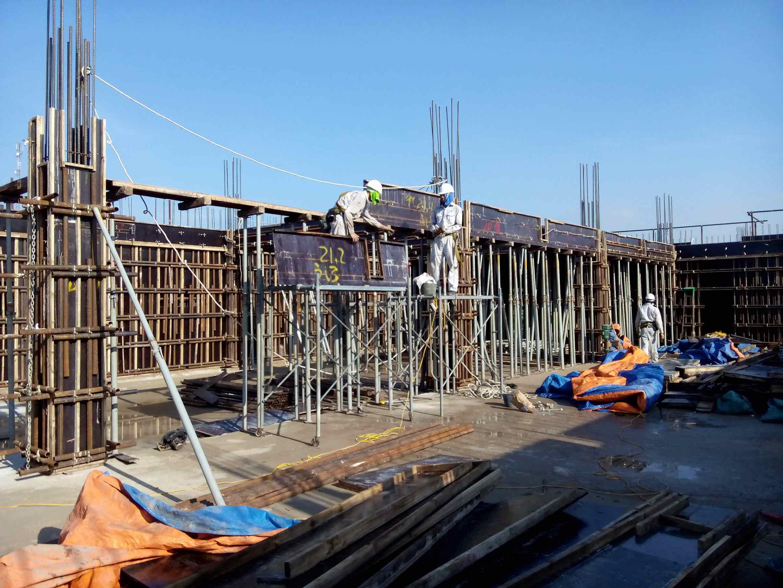 Cập nhật tiến độ dự án KTX nam trường Đào tạo nghề quốc tế Ninh Bình tháng 6/2014
