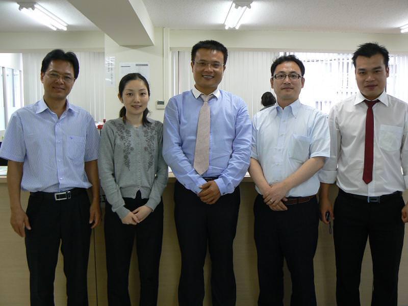 Lãnh đạo công ty Nibelc làm việc với các Nghiệp đoàn tiếp nhận TNS tại Nhật bản