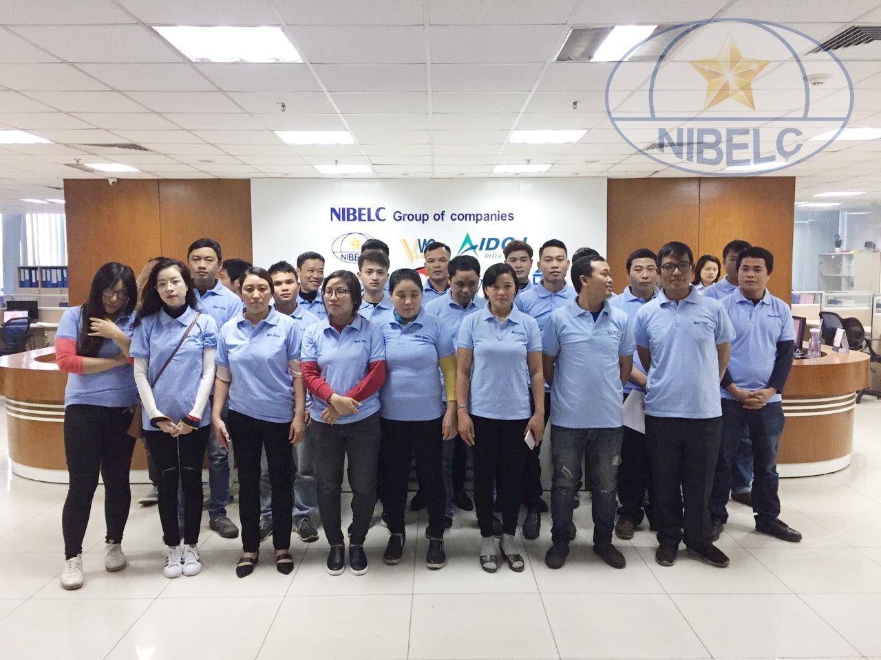 Ra quân đầu năm mới 2019 – NIBELC Group tổ chức thi tuyển thành công đơn hàng lao động đi làm việc tại Romania.